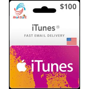 iTunes 100$ -USA