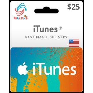 iTunes 25$ -USA