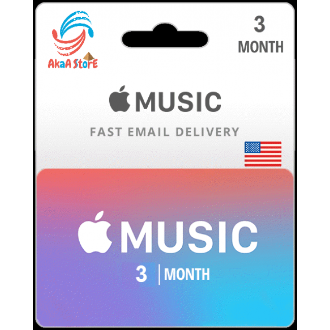 Apple Music 3M USA