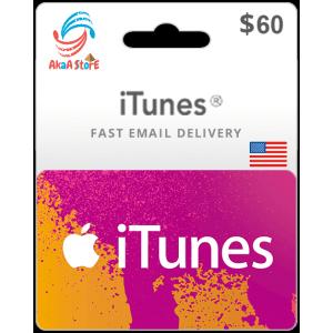 iTunes 60$ -USA