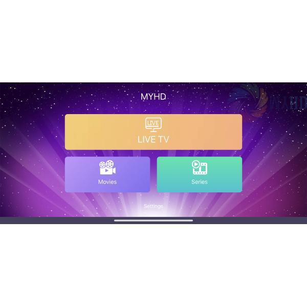 MYHD IPTV 6 MONTHS IPHONE